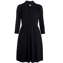 Buy Ghost Laila Dress, Black Online at johnlewis.com