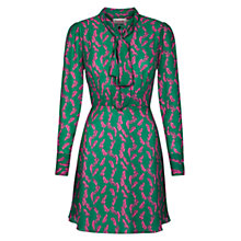 Buy Louche Stori Dress, Green Online at johnlewis.com