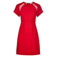 Buy Louche Ina Dress, Red Online at johnlewis.com