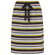 Buy People Tree Cora Stripe Skirt, Multi Online at johnlewis.com