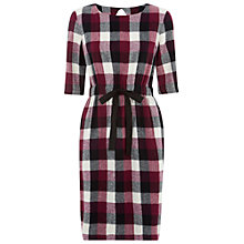 Buy People Tree Julia Check Print Dress, Multi Online at johnlewis.com