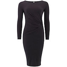 Buy People Tree Abigail Twist Dress, Black Online at johnlewis.com