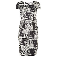 Buy People Tree Sofia Tree Print Dress, Black Online at johnlewis.com
