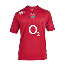 Buy Canterbury of New Zealand England Away Rugby Shirt, Red Online at johnlewis.com