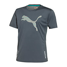 Buy Puma Pure Nightcat T-Shirt, Grey Online at johnlewis.com