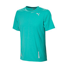 Buy Puma Pure Fitted T-Shirt, Green Online at johnlewis.com