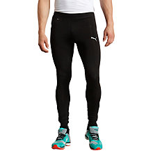 Buy Puma Pure Running Tights, Black Online at johnlewis.com