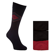 Buy BOSS Gift Combed Cotton Socks, Pack of 3 Online at johnlewis.com