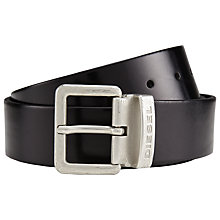 Buy Diesel Beres Leather Belt Online at johnlewis.com