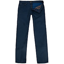 Buy Ted Baker Sidbury Slim Fit Jeans, Rinse Denim Online at johnlewis.com