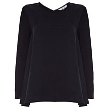 Buy Damsel in a dress Elton Top, Black Online at johnlewis.com