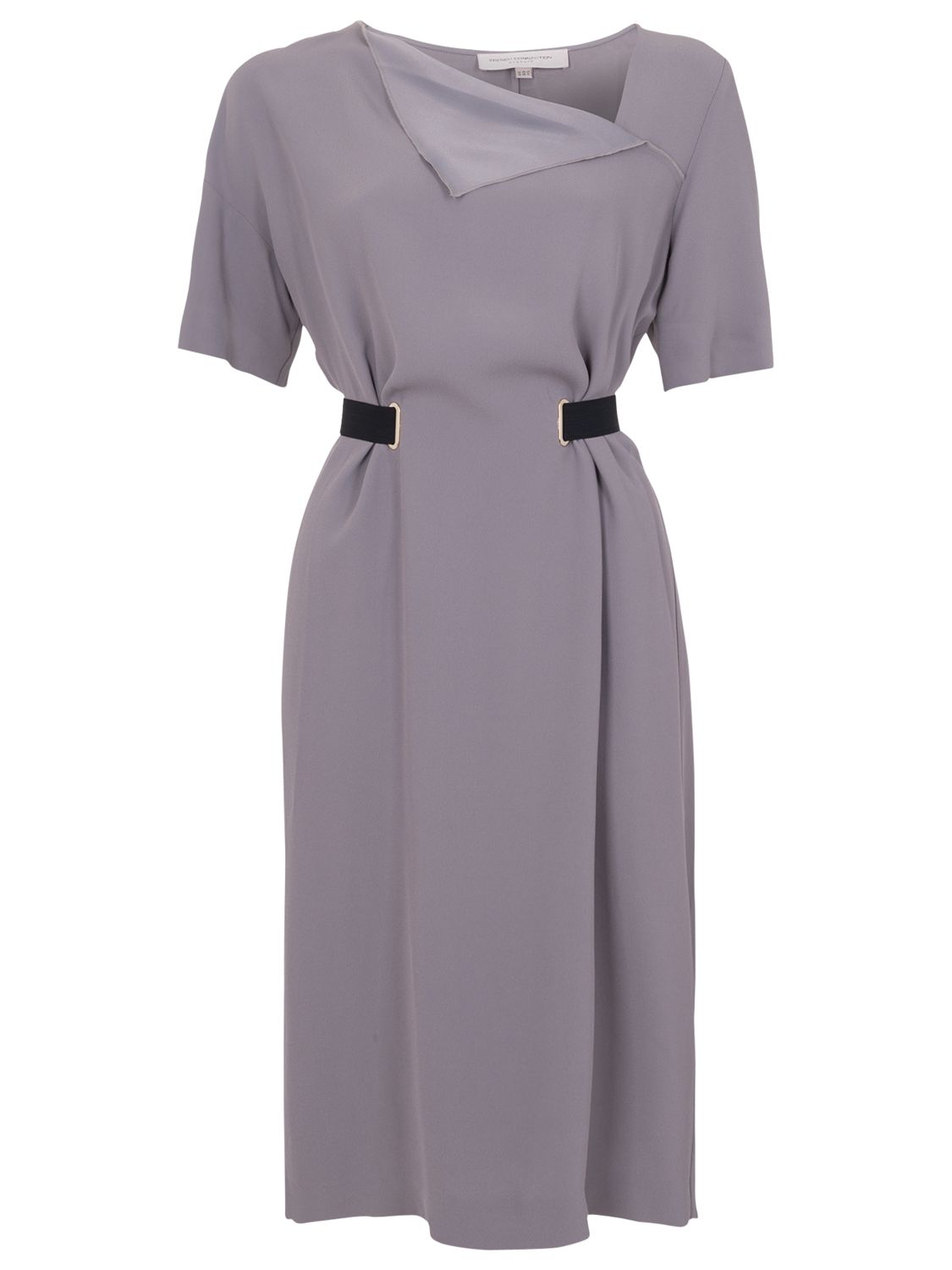 french connection emmeline crepe dress grey otter, french, connection, emmeline, crepe, dress, grey, otter, french connection, 12|10, clearance, womenswear offers, womens dresses offers, new years party offers, women, inactive womenswear, new reductions, womens dresses, special offers, edition magazine, workwear, 1589172