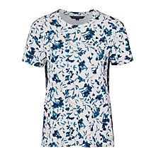 Buy French Connection Porcelain T-Shirt, Winter White/Multi Online at johnlewis.com