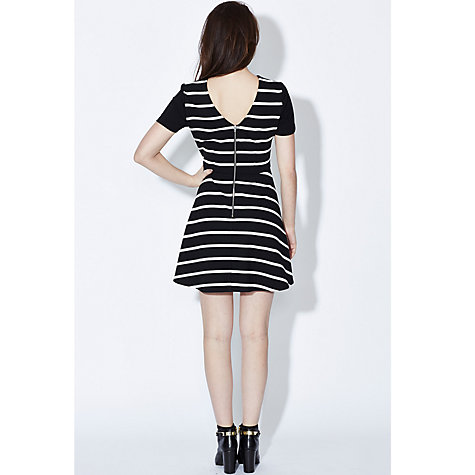 Buy Sugarhill Boutique Patsy Dress, Black/White Online at johnlewis.com