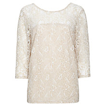 Buy Sugarhill Boutique Sammy Blouse, Cream Online at johnlewis.com