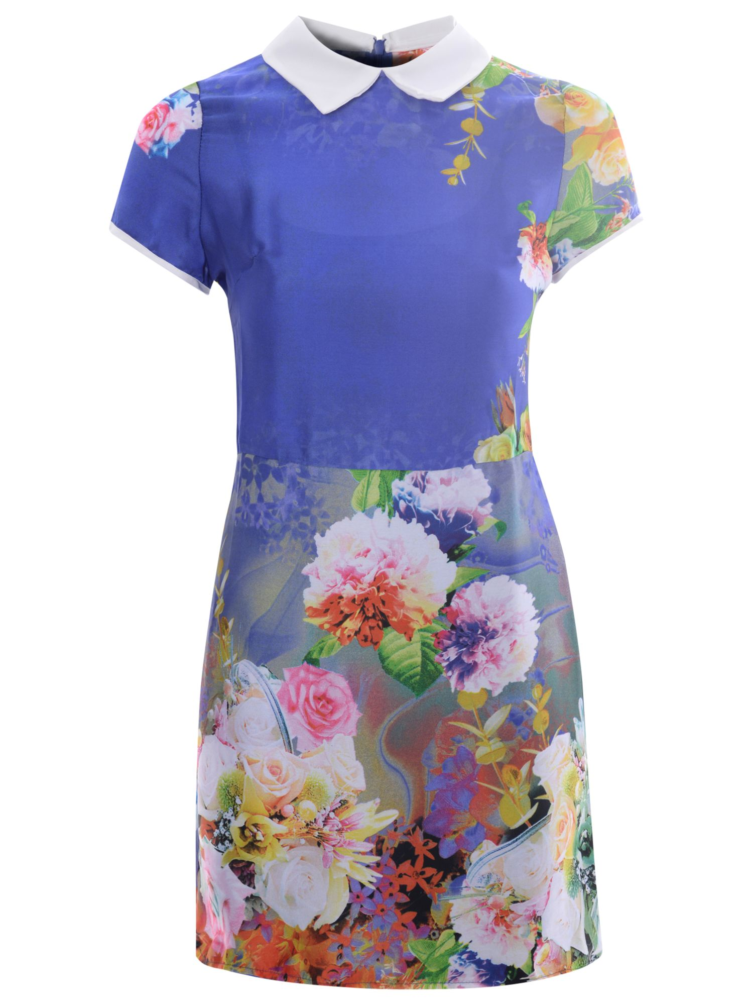true decadence tropical floral shift dress blue tropical, true, decadence, tropical, floral, shift, dress, blue, true decadence, 14|8, clearance, womenswear offers, womens dresses offers, women, womens dresses, special offers, 1587488