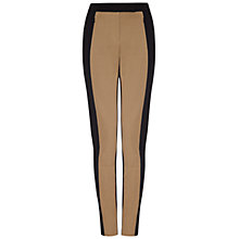 Buy Damsel in a dress Oxley Trousers, Black/Camel Online at johnlewis.com