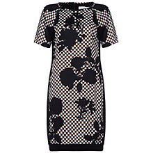 Buy Damsel in a dress Gosfield Printed Dress, Black/Brown Online at johnlewis.com