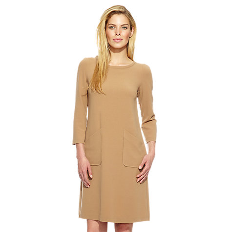 Buy Damsel in a dress Dalton Dress, Camel Online at johnlewis.com