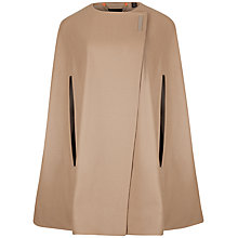 Buy Ted Baker Minimalist Cape, Black Online at johnlewis.com
