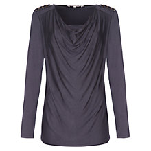 Buy Damsel in a dress Mistley Top, Grey Online at johnlewis.com