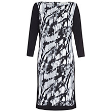 Buy Damsel in a dress Graphite Print Dress, Black Online at johnlewis.com