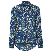 Buy Sugarhill Boutique Botanical Blouse, Navy Online at johnlewis.com