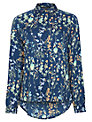 Sugarhill Boutique Botanical Blouse, Navy