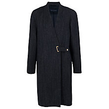 Buy French Connection City Denim Coat, Blue Online at johnlewis.com