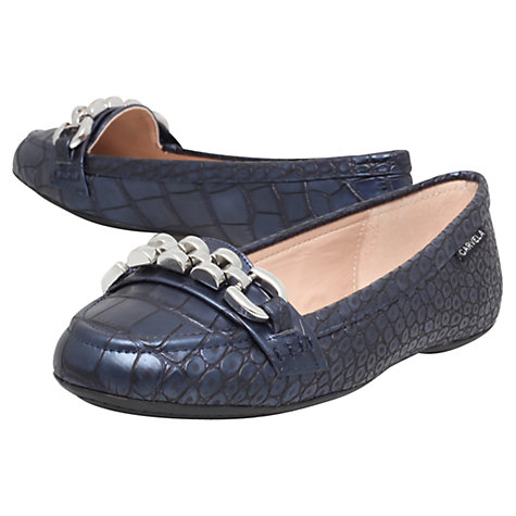 Buy Carvela Liberate Chain Detail Loafers Online at johnlewis.com