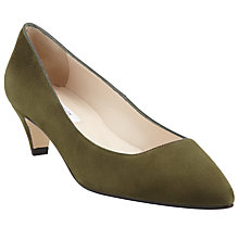 Buy COLLECTION by John Lewis Lisette Suede Kitten Heel Court Shoes Online at johnlewis.com