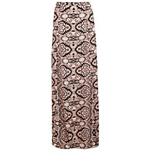 Buy Miss Selfridge Paisley Maxi Skirt, Multi Online at johnlewis.com