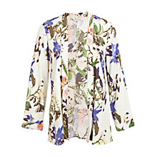 Buy Miss Selfridge Botanical Print Kimono, Multi Online at johnlewis.com