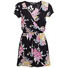 Buy Miss Selfridge Hawaii Playsuit, Multi Online at johnlewis.com