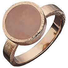 Buy Boutique by Lola Beckett Quartzite Ring, Rose / Rose Gold Online at johnlewis.com