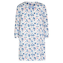 Buy John Lewis Girl Scandinavian Floral Nightdress, Blue Online at johnlewis.com