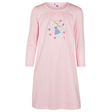 Buy John Lewis Girl Fairy Nightdress, Pink Online at johnlewis.com