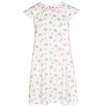 Buy John Lewis Girl Vintage Floral Nightdress, Pink Online at johnlewis.com