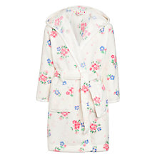 Buy John Lewis Girl Vintage Rose Robe, Cream Online at johnlewis.com