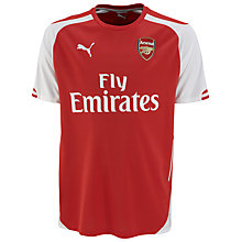 Buy Puma Boy's Arsenal Replica Home Shirt 2014/2015, Red/White Online at johnlewis.com