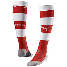 Buy Puma Junior Arsenal FC Home Kit Socks, Red/White Online at johnlewis.com