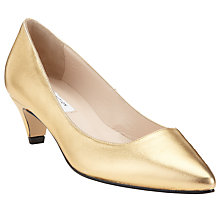 Buy John Lewis Lisette Leather Kitten Heel Court Shoes Online at johnlewis.com