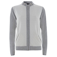 Buy Mint Velvet Bobble Jacket, Grey Online at johnlewis.com