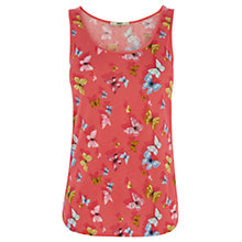 Buy Oasis Spring Butterfly Print Vest, Multi Online at johnlewis.com