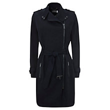 Buy Mint Velvet Biker Trench Coat Online at johnlewis.com