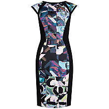 Buy Ted Baker Retro Geo Dress, Lilac Online at johnlewis.com