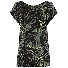 Buy Wishbone Lily Jungle Fern Print Tee, Multi Online at johnlewis.com