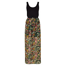 Buy Oasis Ditsy 2 in 1 Maxi Dress, Multi Online at johnlewis.com