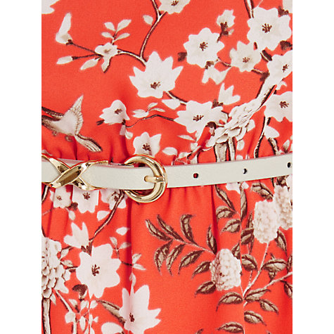 Buy Oasis Japanese Blossom Midi Dress, Multi Online at johnlewis.com