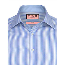 Buy Thomas Pink Hillard Stripe Shirt, Pale Blue/White Online at johnlewis.com